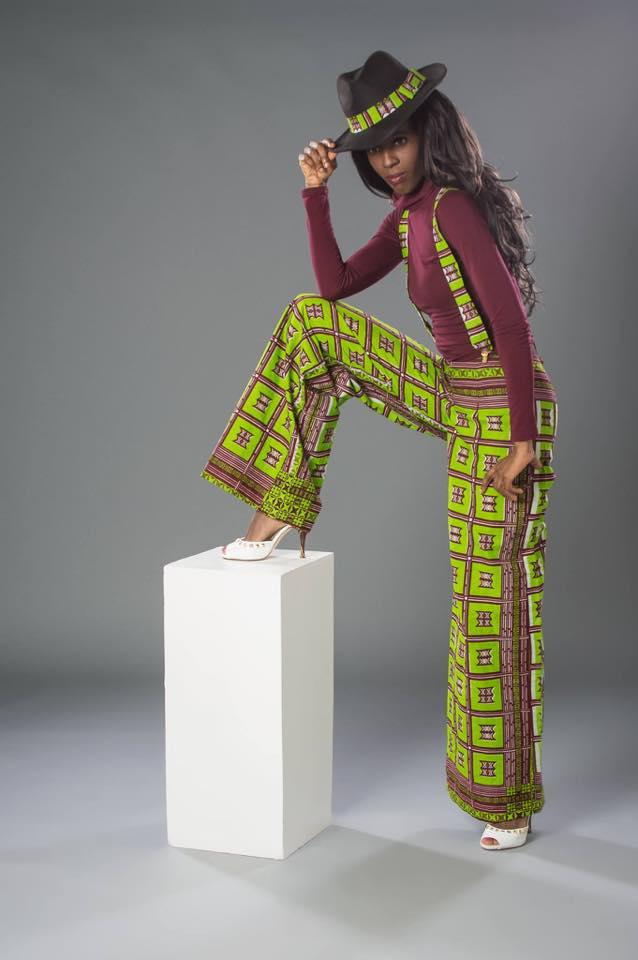 Rita Jalloh, model/enterpreneur - St. John's, NL, Canada.