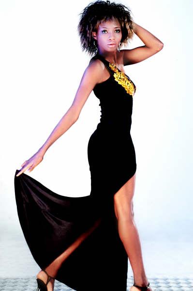 Marie Kargbo, model - China