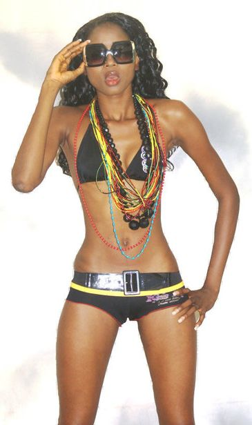 Ramatu Wurie, model - Freetown, Sierra Leone.